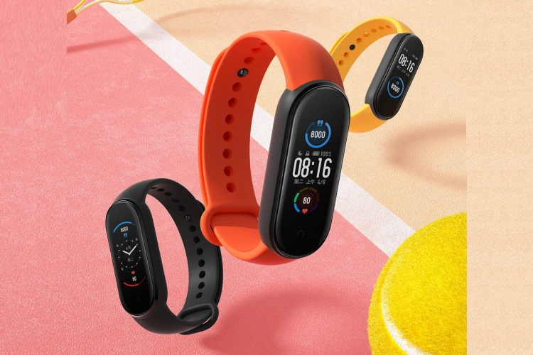 New Xiaomi Mi Band 5 images appear showing official colors