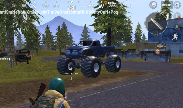 pubg mobile monster truck