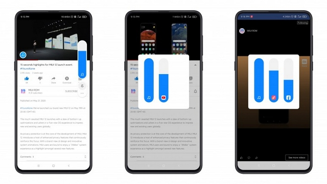 sound assistant controls miui 12