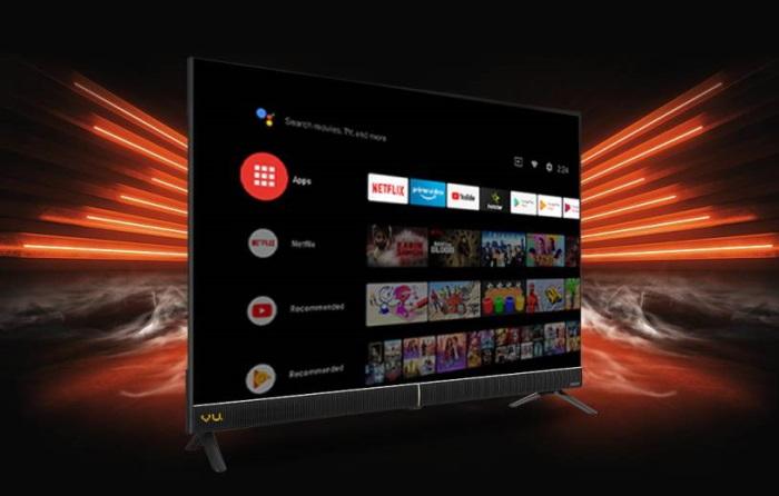 vu cinema smart TV- 32-inch and 43-inch