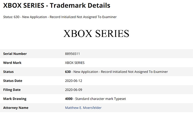 Microsoft Trademarks 'Xbox Series' Name Fuelling Xbox Series S Speculations