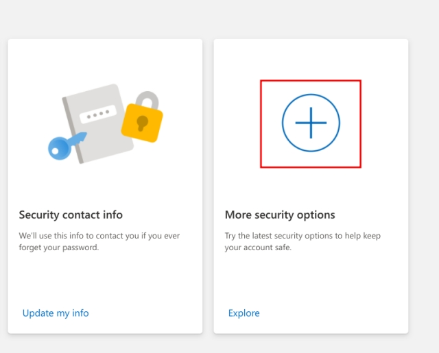 Enable Two-factor Authentication (2FA) For Microsoft Account