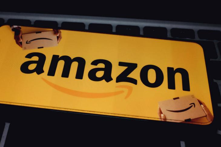 Amazon logo shutterstock website