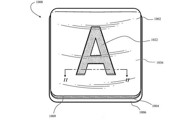 Apple Keyboard patent feat.