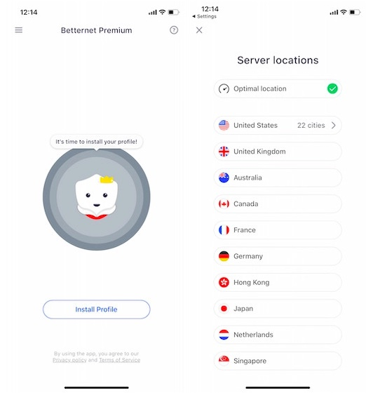 Does Betternet Vpn Work In China