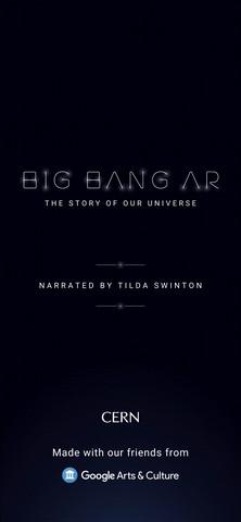 Big bang AR intro