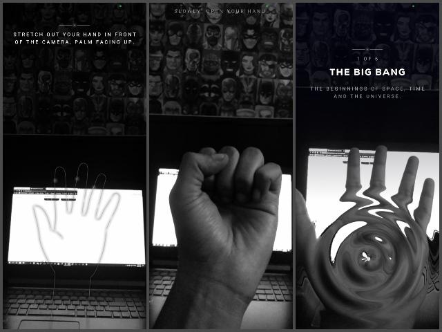 Big bang ar hand