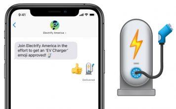 EV charger emoji feat.