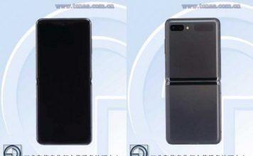 Galaxy Z Flip 5G TENAA