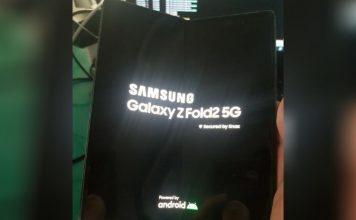 Galaxy Z Fold 2 leaked