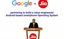 Google Jio partnership website