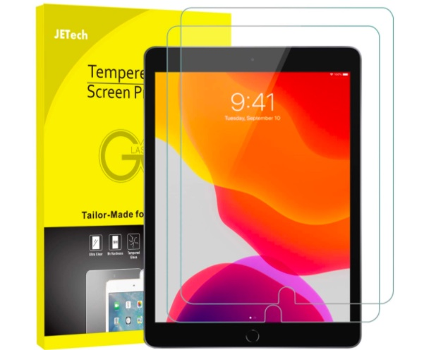 JETech Screen Protector for Apple iPad 7 (10.2-Inch