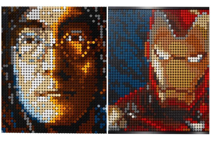 Lego art sets feat.