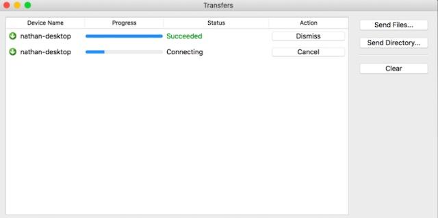 NitroShare file transfer app