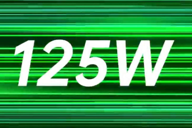 Oppo 125W charging website