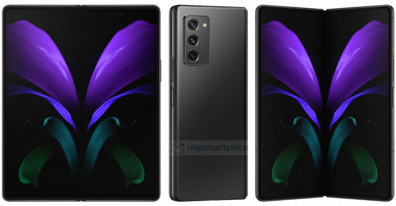This is Our Best Look Yet at the Samsung Galaxy Z Fold 2 5G