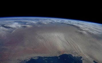 Sandstorm from space feat.