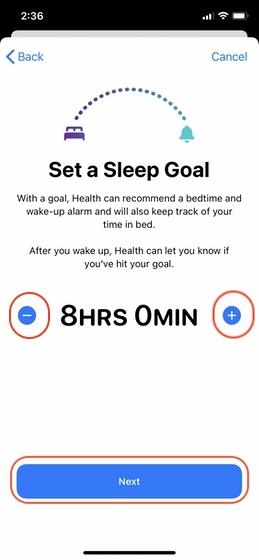 Richten Sie Sleep Tracking auf Ihrem iPhone 4 ein