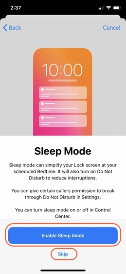 Set up Sleep Tracking on Your iPhone 7