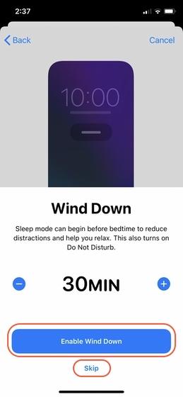 Richten Sie Sleep Tracking auf Ihrem iPhone 8 ein