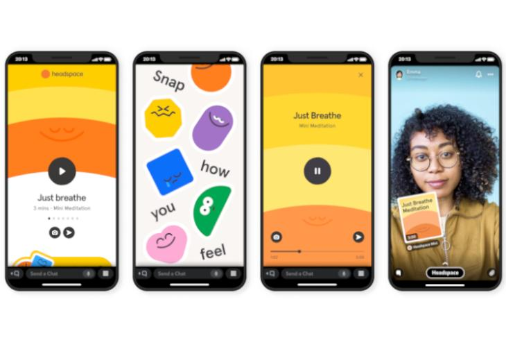 Snapchat Rolls out First Set of Mini Apps