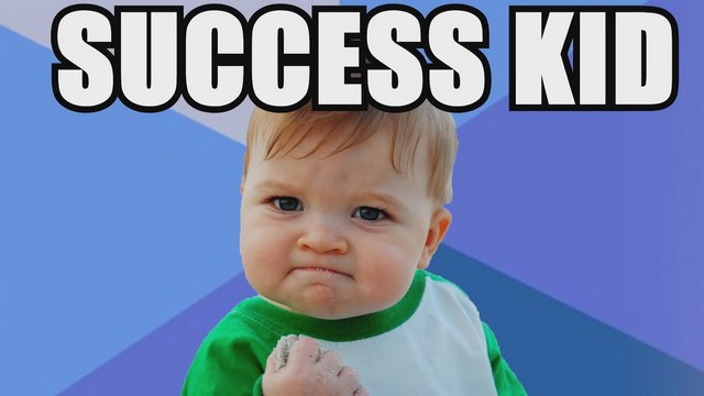 Success kid 2