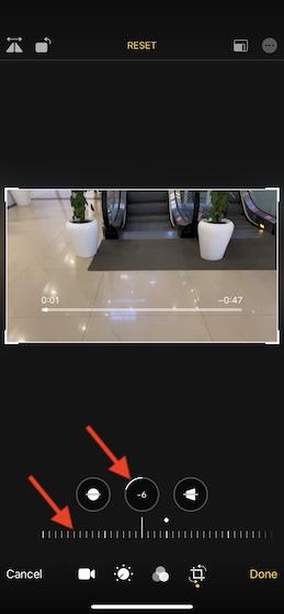 Vertical video alignment