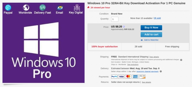 Deals for Windows 10 Keys