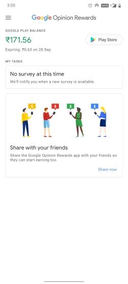 10. Google Opinion Rewards