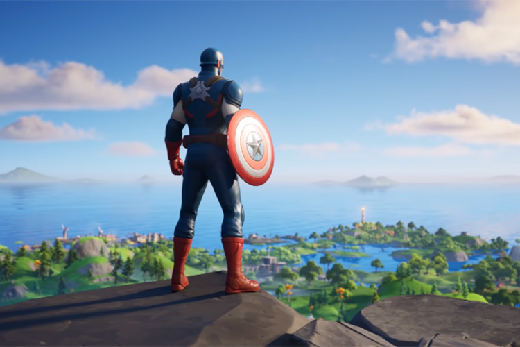 FORTNITE Introduces Official Captain America Skin; Now Available On All Platforms