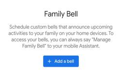 google assistant family bell featured