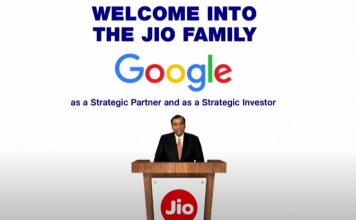 google picks 7.7% stake in jio platforms