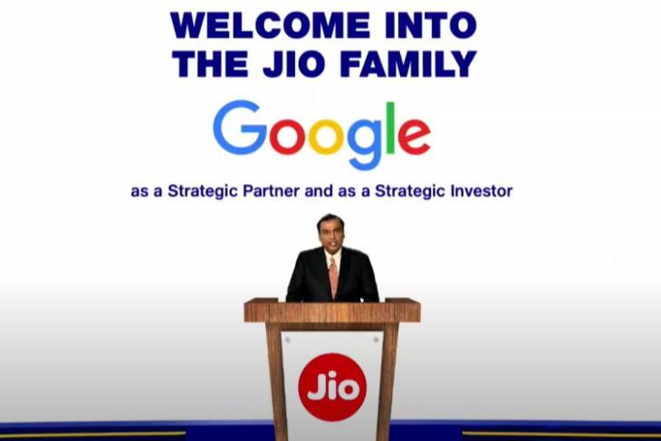 google picks 7.7% stake in jio platforms