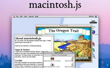 macOS 8 as an app feat.