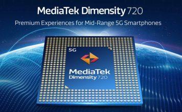mediatek dimensity 720 chipset announced