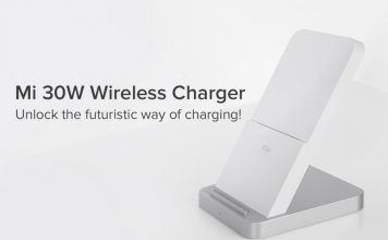 mi 30w wireless charger ft.