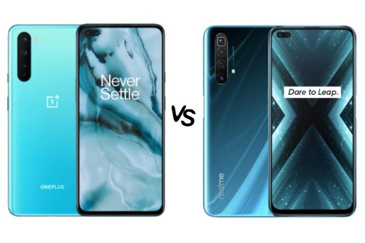 oneplus nord vs realme x3 superzoom
