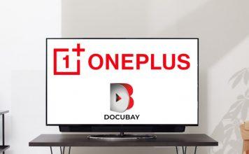 oneplus tv docubay partnership