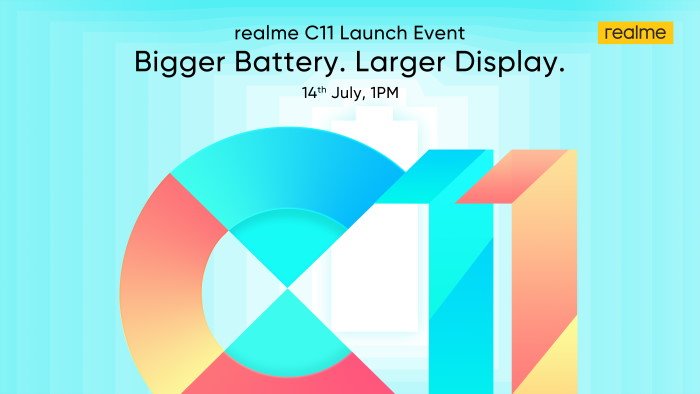Realme C11 India Launch Confirmed for July 14th