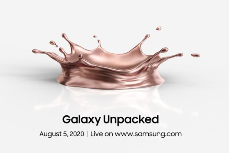 samsung galaxy note 20 launch date