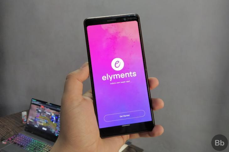 social media super app Elyments