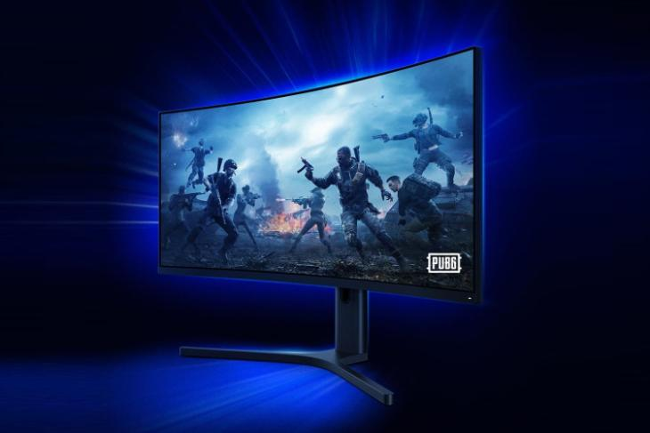 xiaomi launches mi curved gaming monitor