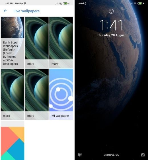 Install Super Wallpapers from MIUI 12 on Any Android Device
