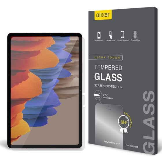 3. Olixar Tempered Glass Best Screen Protectors for Samsung Galaxy Tab S7