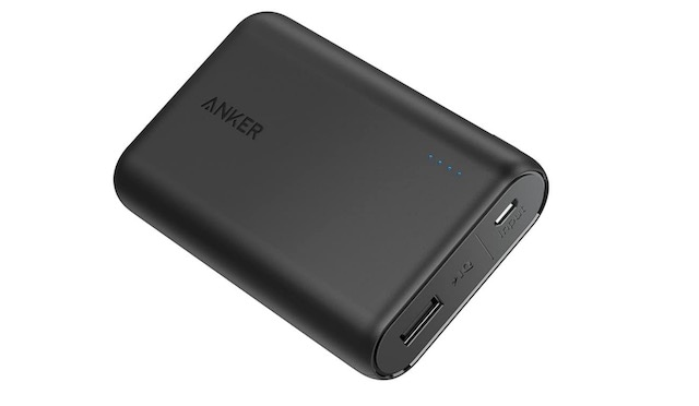5. Anker PowerCore 10000 Portable Charger