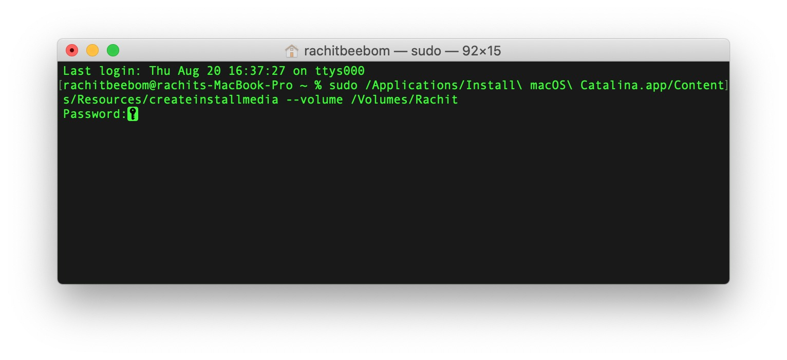 5. Install macOS Using a USB Bootable Drive
