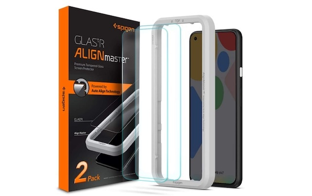 5. Spigen Tempered Glass Screen Protector