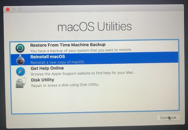 6. Erase and Factory Reset Your Mac