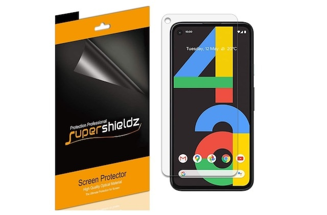 6. Supershieldz for Google Pixel 4a Screen Protector