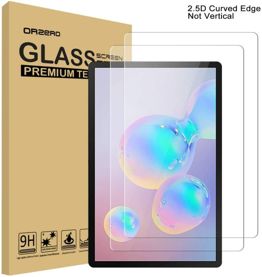 7. Orzero Tempered Glass Best Screen Protectors for Samsung Galaxy Tab S7